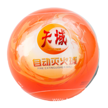 Vehicle mounted fire ball/Automatic fire extinguisher