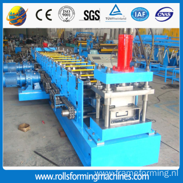 Automaticaly steel c channel c purlin machine