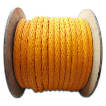 Hot sale braided UHMWPE rope with high strength