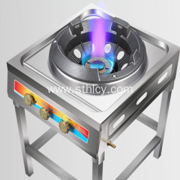 Stainless Steel Gas Stove Double Stove