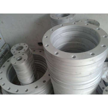 Aluminum alloy forged plate flange