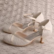 Low Heel Court Heels Shoes for Women