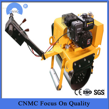 Mengendalikan Compaction Hydraulic Gasoline Engine Roller Jalan