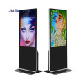 Economic promotional 65 inch Floor Stand advertising screen use in Shopping Mall