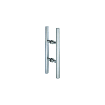 Stainless Steel Tube H Shape Pull Handles