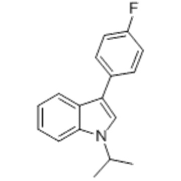 3-(4-Fluorophenyl)-1-isopropyl-1H-indole CAS 93957-49-4