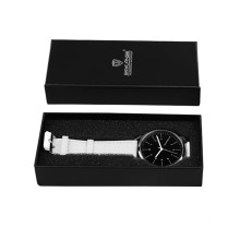 Custom Black Gift Cardboard Paper Watch Box