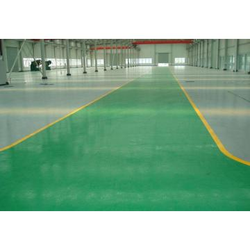 Super abrasion resistant epoxy flat coating