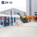 QT8-15 Fully automatic cement hollow concrete block machine