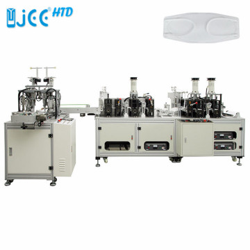 Automatic KF94 Fish Shape Mask Making Machine