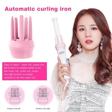 Automatic Hair Curler Auto Curling Iron Spin Curling Wand 360 Rotating Styling Wand Ceramic Professional Spiral Beach waver Iron
