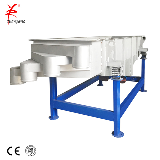 Double Layer Stainless Steel Coffee Bean Linear Vibrating Screen