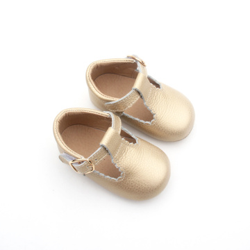 Baby Dress Gold Soft Children Leather Shoes Girl