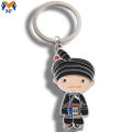 Hot Sale Metal Custom Cartoon Comic Keychain