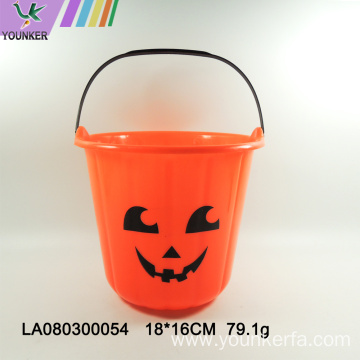 Wholesale Halloween decorations pumpkin candy bucket