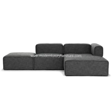 Quadra Carbon Gray Right Sectional Sofa