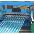 Colored steel roof panel corrugated roll forming machine