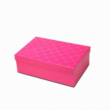 Red Medium Gift Cardboard boxes With lid