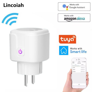 WiFi Smart Plug EU US UK Adapter Wireless Remote Voice Control Power Energy Monitor Outlet Timer Socket for Alexa Google Home