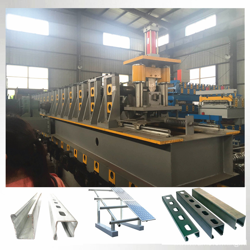 solar pv stents bracket roll forming machine