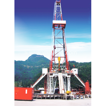 onshore land drilling rig for gas and oil