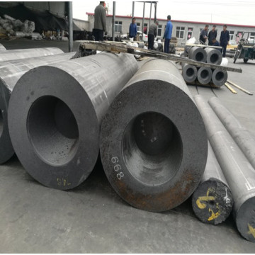 RP graphite plate electrode for steelmaking