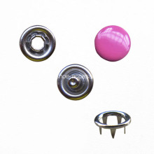 Cameo Pink Capped Prong Button
