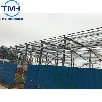 steel truss structure warehouse shed design roof truss