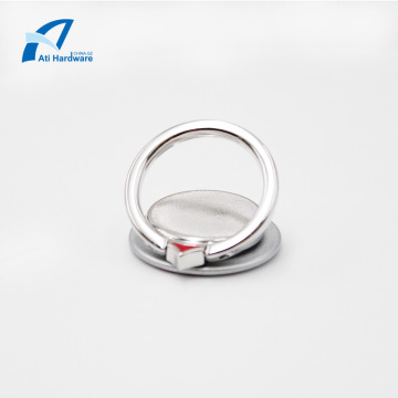 Portable Swiveling Zinc Mobile Phone Finger Ring