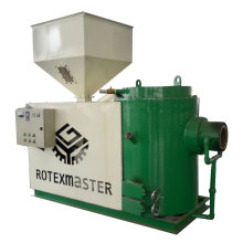 Renewable biomass burner equipment