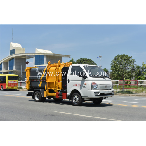Cheap Sale KAIMA 3.5cbm Food Waste Hauling Truck