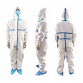 Medical Tyvek Hazmat Chemical Disposable Coveralls Suit