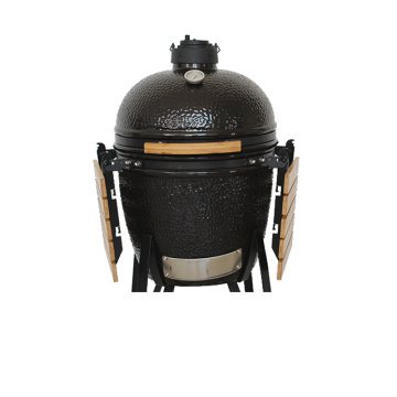 Outdoor Patio Charcoal Pizza Stove Ceramic Grill BBQ Kamado