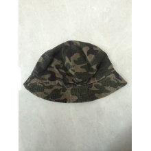 Printing Washing Reversible Woven Autumn Bucket Hat