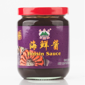 Delicious hoisin sauce in a 230g glass jar