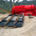 Placer Gold Ore Washing Rotary Trommel