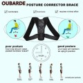 Shoulder Back Brace Posture Support Strap for Posture