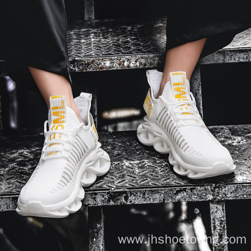 custom men high quality sports sneakers running shoes