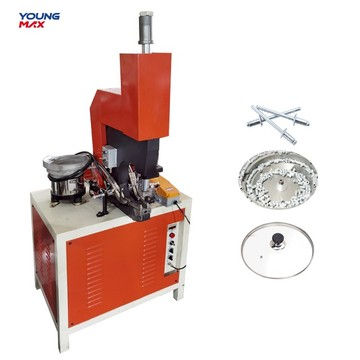 light hydraulic pneumatic auto feeding riveting machine