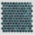 Malachite Green Glass Mosaic For kitchen And Sitting