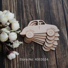 Wooden Comic Old Car Craft Shapes Plywood