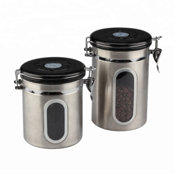 Coffee Canister With Airfresh Valve Technology