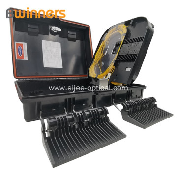 16 Cores Fiber Optic Splitter FTTH Termination Box