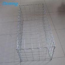 Factory Supply 75*75mm Galvanized Welded Gabion Metal Wall