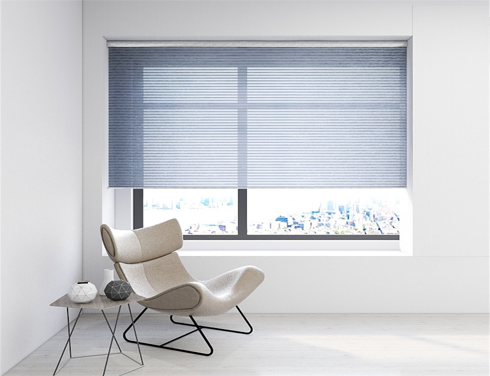 Motorized Cellular Honeycomb Blinds