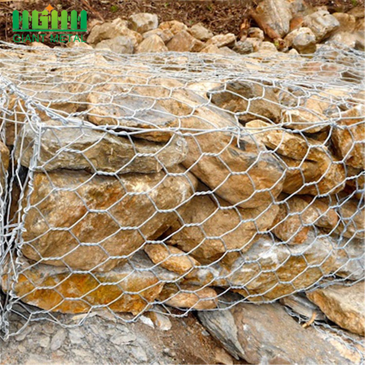 Hexagonal Hole Gabions Application Gabion