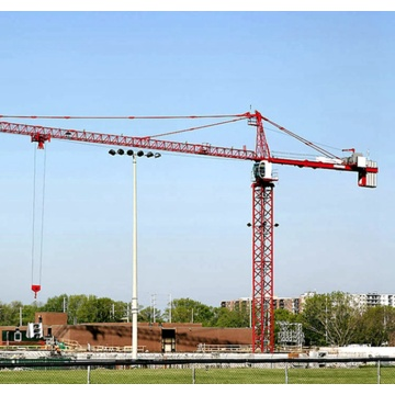 Better stability QTZ80-6012-6T tower crane