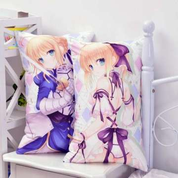 Decorative sublimation hugging body pillow cover