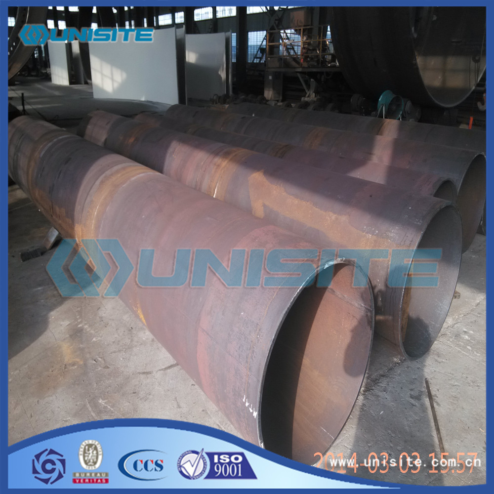 Black paint metal pipes saw