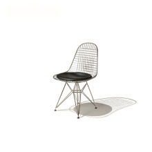 Metal Eames Dining Room Wire Mesh Chair